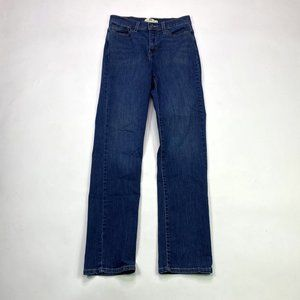 Levis 512 Perfectly Slimming Straight Leg Size 8